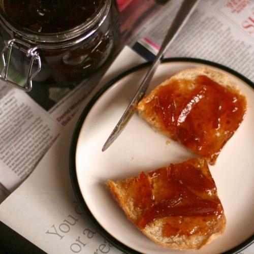 cardamom and seville orange marmalade