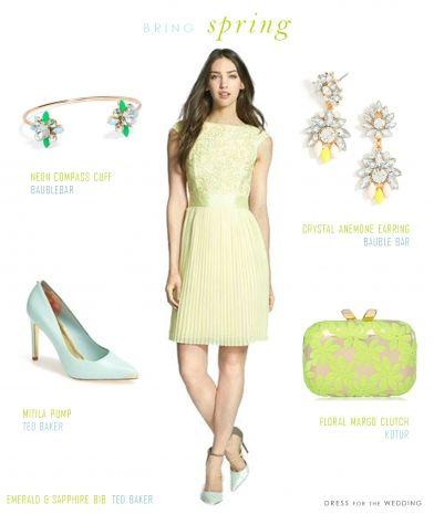 Need yellow dress for wedding