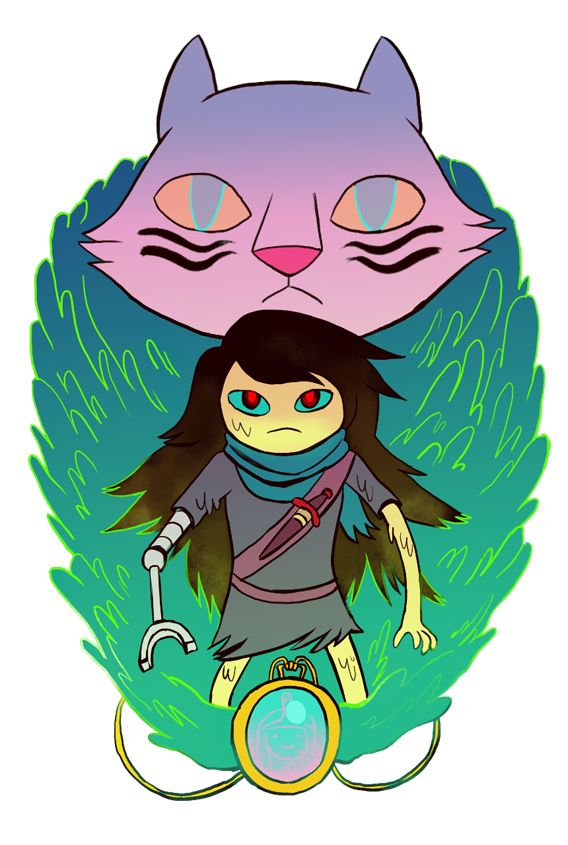 The Vault by Lauren Zuke Adventure Time, Shoko and her tiger.