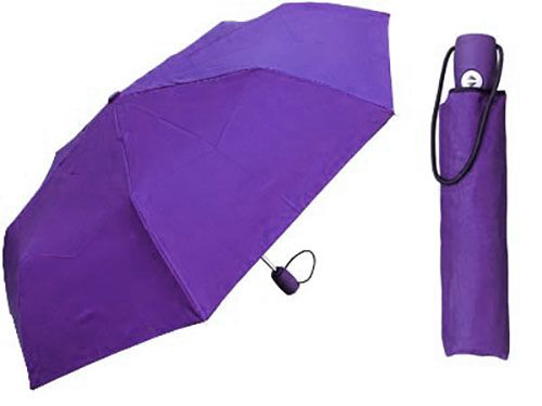 Purple Compact Umbrella - Medium Umbrella