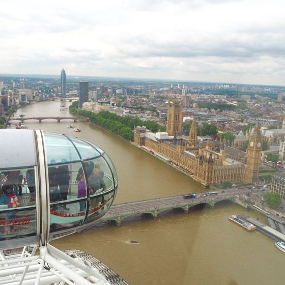 Westminster from The London Eye