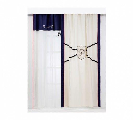 Royal Dekor függöny #gyerekbútor #bútor #desing #ifjúságibútor #cilekmagyarország #dekoráció #lakberendezés #termék #ágy #gyerekágy #royal #lovas #ló #horse #függöny