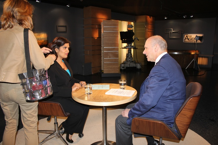 David Mirvish drops in to chat with The Agenda in the Summer.
