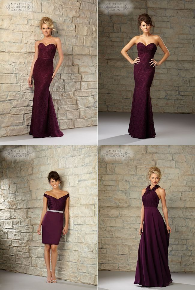 Mori Lee bridesmaids - Marsala Announced as the Pantone Colour of the Year for 2015