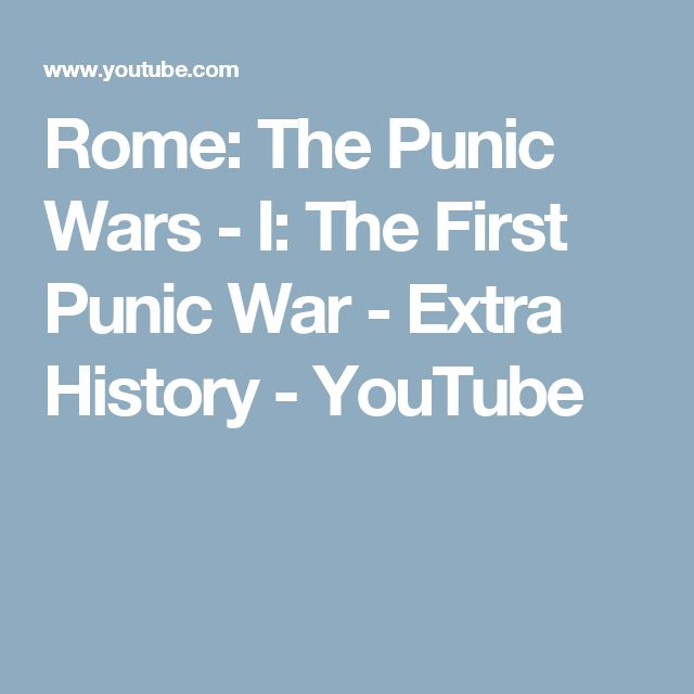 a historical account of the first punic war 26042018  hannibal's war: a military history of the second punic war by  american historical  j f lazenby provides the first scholarly account in english.