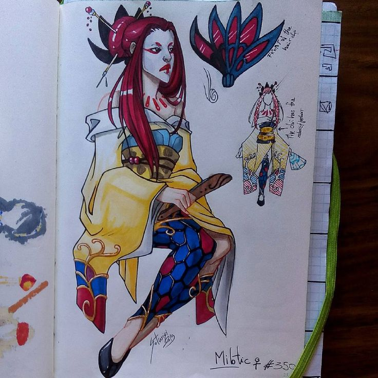 soturisi:  Gijinka time!!! (again XDDDD)  Today a female Milotic.  I've tried to put an oriental look,  I never do things with oriental style (japanese) but I think it's okay XDDDD what do you think?   I want to do more gijinkas but I don't know which choose :_D suggestions?? Tell me a pokémon and a gender :) (and more things if you want too)