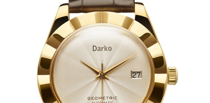 Darko Geometric Watch detail