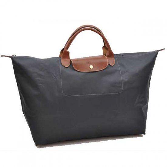 Longchamp glandulifera sac de voyage reine Classique sombres gardes bleus