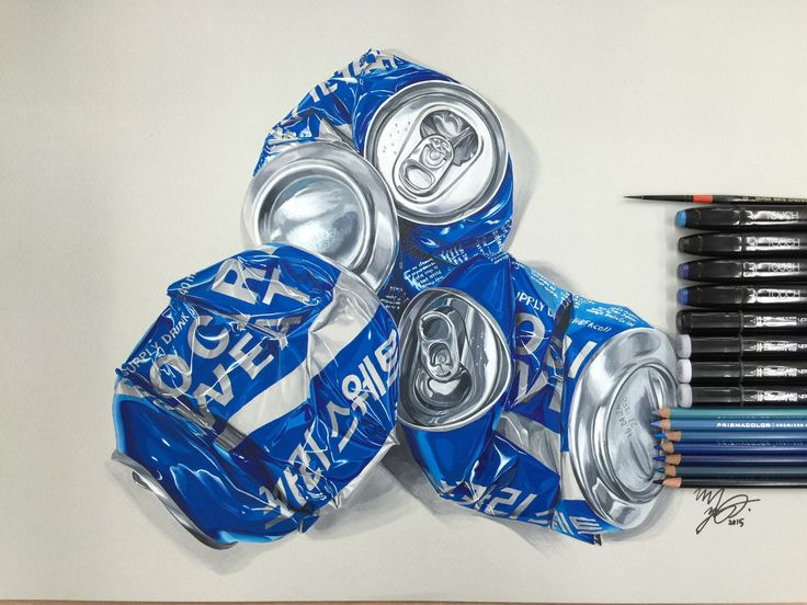 #Hyperrealism#Crushedcan#Aluminumcan#PosterColor#Coloredpencil#Marker#Watercolor#Painting#Art#Artist#Illustration#Fineart#Art#CocaCola#Mountaindew#Pocarisweat
