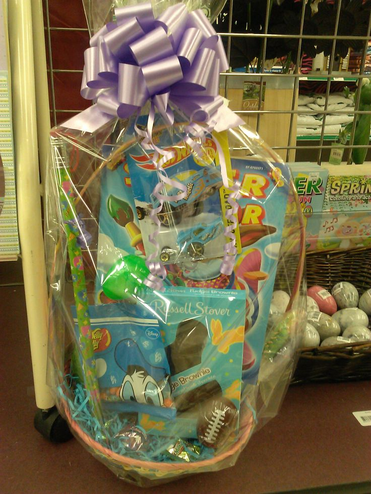 Happy Easter Basket is a unique present for Easter! Available at Fruth Pharmacy today.