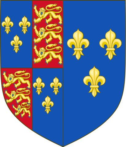 Arms of Catherine of Valois