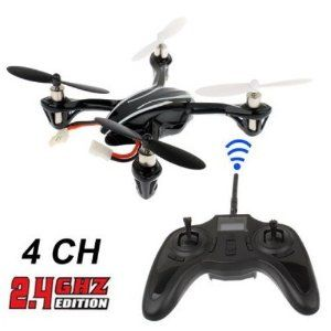 H107 X4 RTF Micro QuadCopter by Hubsan. $56.00. Motor (x4): Coreless Motor Battery: 240mAh 3.7V   Flight time: above 9 minutes Charging time:30 minutes Latest 6-axis flight control system with adjustable gyro sensitivity Permits super stable flight Lightweight airframe with nice durability 4-ways flip(left,right,forward,backward) USB charging cable allows to charge by computer. Can flying outdoor   Size: 60*60mm