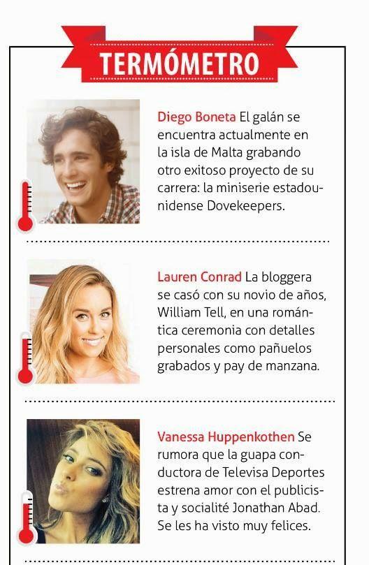 Diego Boneta Group: [SCAN] Diego Boneta en Caras México -  Octubre