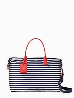 classic nylon large lyla weekender by kate spade new york