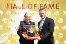 #ArthurMorris inducted into the #ICC #Cricket #Hall of Fame Former Australia cricketer #Arthur #Morris was inducted into the International Cricket Council's (ICC) Hall of Fame by ex-skipper Steve Waugh during the tea break on the opening day of the third Test between Australia and Pakistan.  Read more at: http://www.mahendraguru.com/2017/01/spotlight-4-jan-1000-am.html Copyright © Mahendras