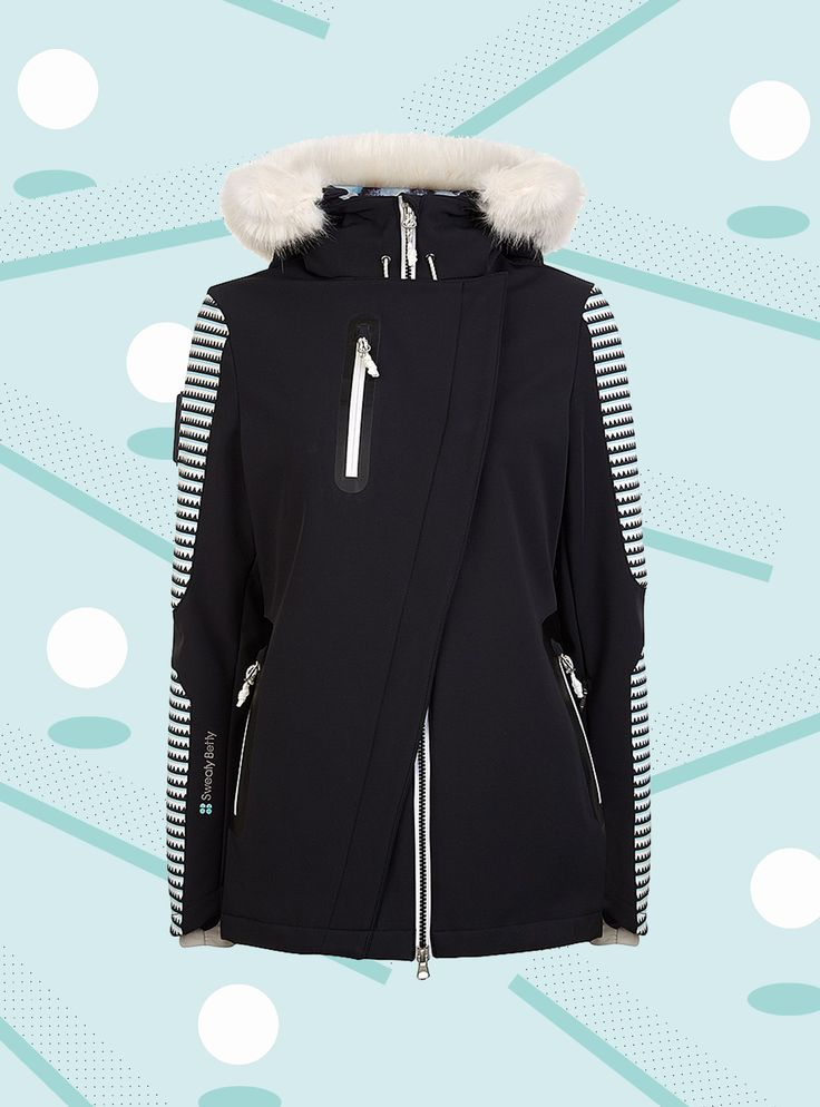 Here's Your Skiing Shopping List #refinery29  http://www.refinery29.uk/ski-gear-clothing#slide-15  Roxy Andie Snow Jacket, £200, available at RoxyRoxy Woodrun Snow Pants, £150, available at Roxy...