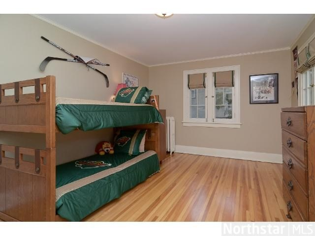 A Perfect Bedroom For Your Little Minnesota Wild Fans.