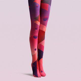 Viken plan designer brand pantyhose cotton socks creative stockings pattern stockings fire – vikenplan – Socks