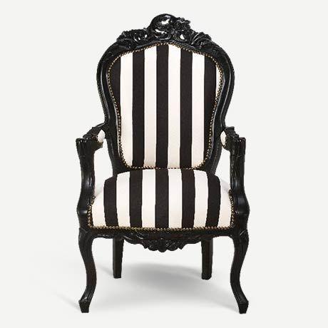 Louie Louie Klasik İtalyan tarzı restore edilmiş orijinal antika berjer | Italian style restored vintage armchair, antique chair