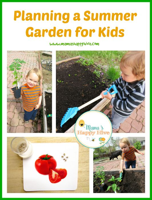 Enjoy activities for planning a summer garden for kids. Also, enjoy 30+ kid friendly summer activities to keep your family entertained all summer long!