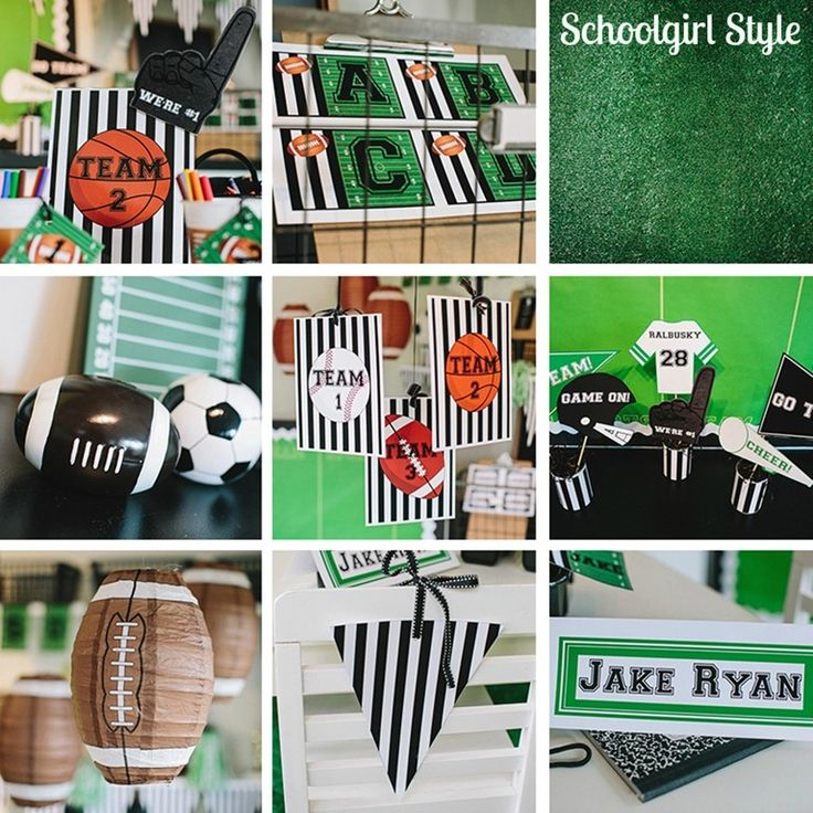 Team / Sports classroom theme by Schoolgirl Style .schoolgirlstyle.com & 80 best Sports-Themed Classroom images on Pinterest | Classroom ...
