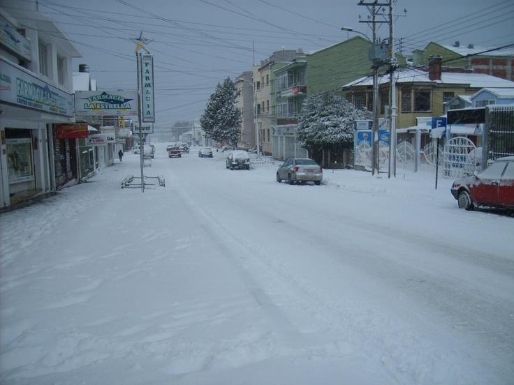 Punta Arenas - winter time [calle tantas veces transitada, que nostálgico...]