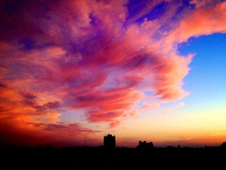 Pink paradise | 5th floor sunset | Timisoara | Romania