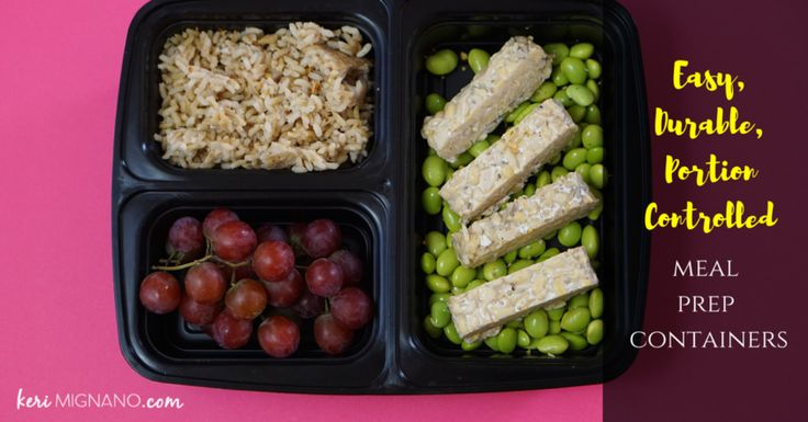 These are the best meal prep containers with great reviews on Amazon. They are easy to use, durable, and make meal prepping a lot easier! #mealprepcontainers #mealprep Find more info at www.kerimignano.com
