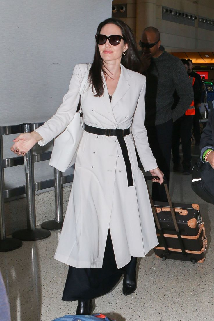 ANGLEINA JOLIE inLAX Airport in Los Angeles 03/11/2017