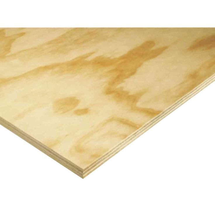 Cabinet Grade Plywood Panel (Common: 23/32 in. x 4 ft. x 8 ft.; Actual: 0.688 in. x 48 in. x 96 in.)-1077486 - The Home Depot