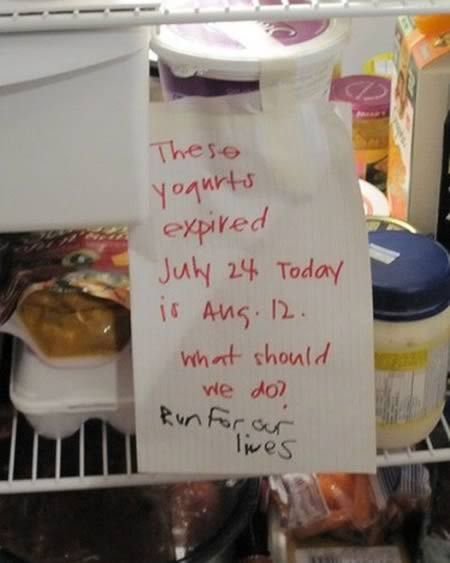 16 Hilarious Roommate Notes - Oddee.com (funny roommate, hilarious notes)