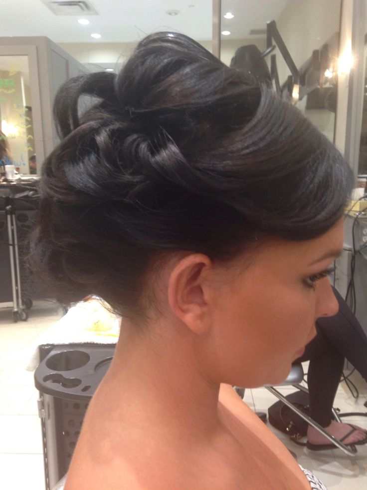 Great big updo