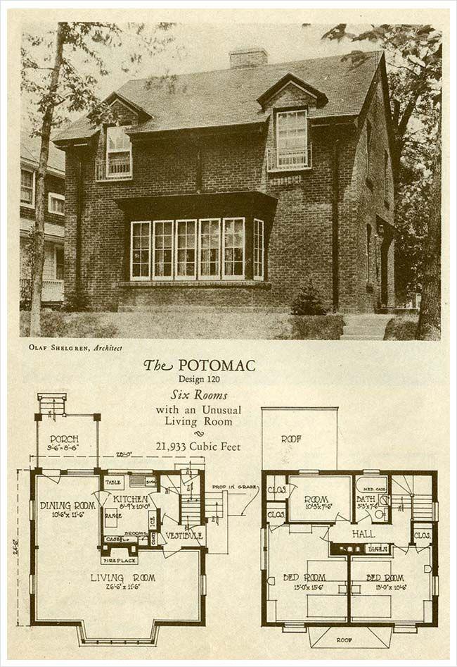 136 best vintage house plans images on pinterest | vintage houses