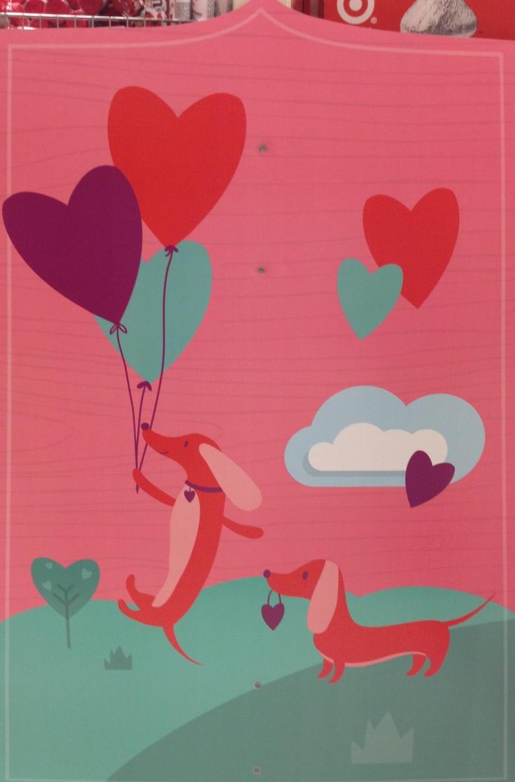 Target's Valentine's Day Signage.