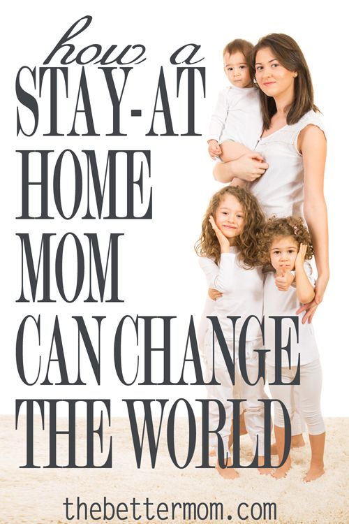 Do you ever wonder why God made you a mom? Do you realize that being a mom makes you famous? Motherhood is revolutionary. It changes the world. Your sacrifice to be a mother is your child's reward. And that changes everything.