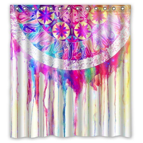 11 best dreamcatcher images on pinterest dream catcher for Unique shower curtains cheap