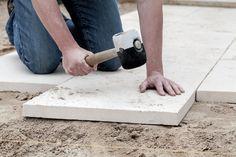 Terrassenplatten richtig verlegen | www.selber-bauen.de