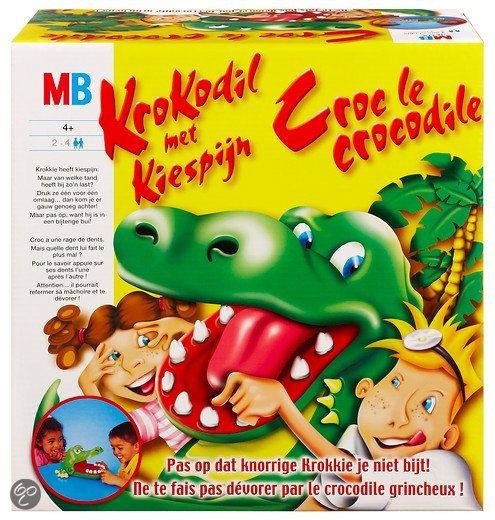 Thema jungle / oerwoud: krokodillenspel