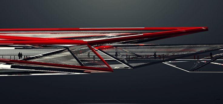 Reforma Bridge: by Jesus Alvarado #Processing #Montage #Construction #Edifice #Bridge