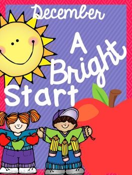 {FREE} December Morning Bright {Kindergarten Literacy Morning Work}
