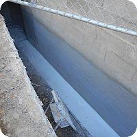 • Toorak • Rear Wall • Wet Block Work • D.C.W. Crystalline WaterProofing •