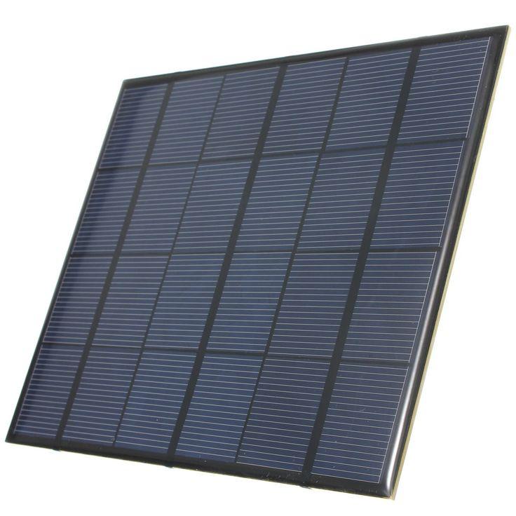 Venta caliente 3.5 W 6 V 583mA Epoxi Mini Panel Solar de silicio Monocristalino Módulo Solar DIY Sistema de Batería de células Solares cargador de teléfono