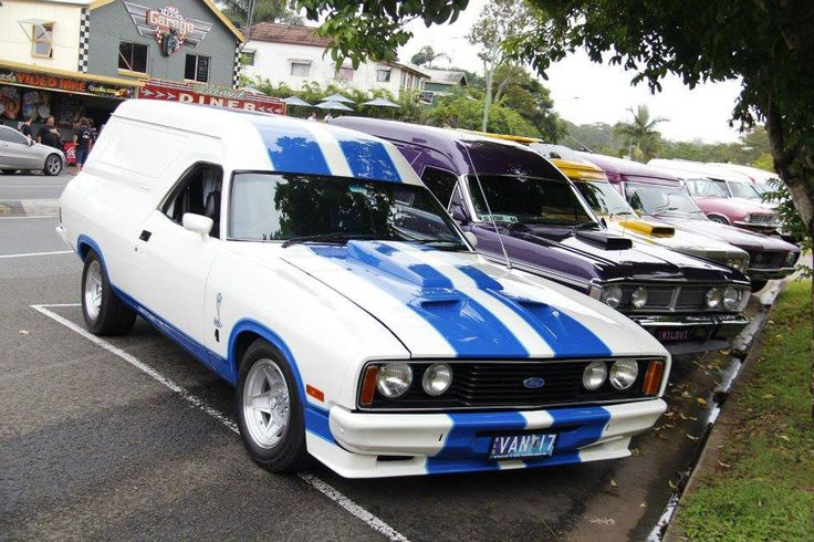 XC Ford Falcon panel van Cobra styling
