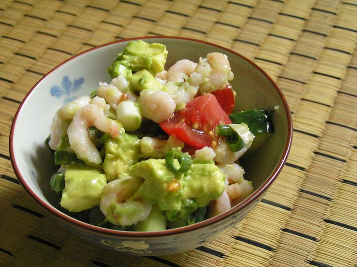 Zesty Lime Shrimp and Avocado Salad - This dish is a nice light and ...