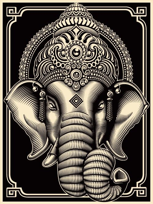 Ganesh, remover of obstacles. - Bless me oh Ganesh…