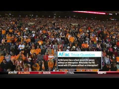 """▶ """"The Third Saturday in October"""" 2012 #1 Alabama vs Tennessee - YouTube"""