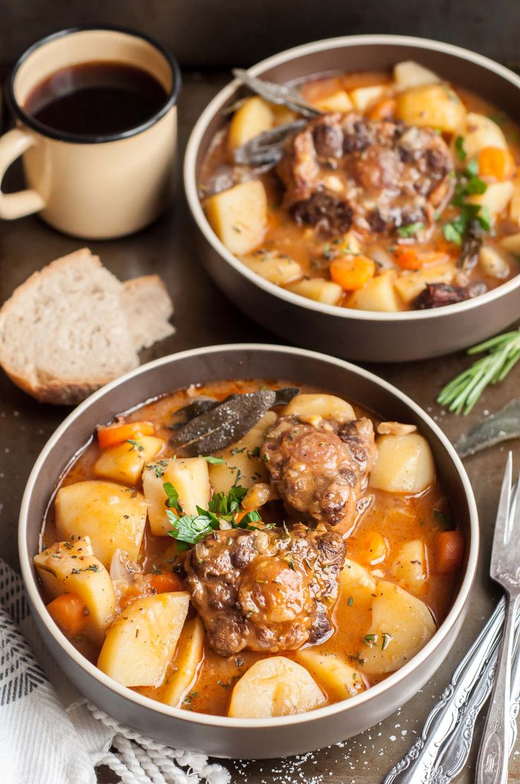 Every time I make this super easy and cozy pressure cooker oxtail stew it puts…