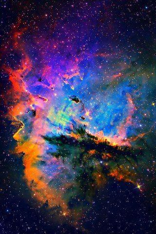 Pacman Nebula courtesy of Hubble
