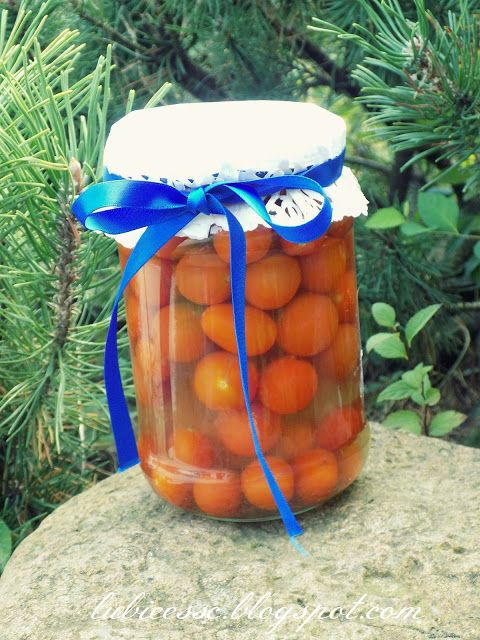 Pomidory marynowane wg Siostry Anastazji | Pychotkaaa