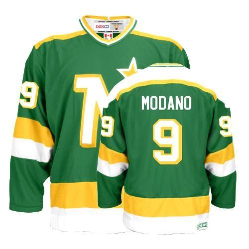 Dallas Stars Mike Modano 9 Green Authentic Jersey Sale
